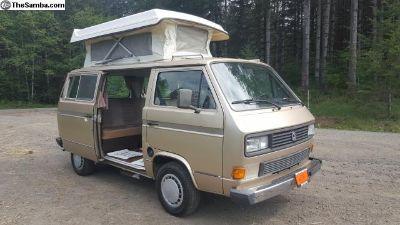 1987 Volkswagen Vanagon Riviera Camper