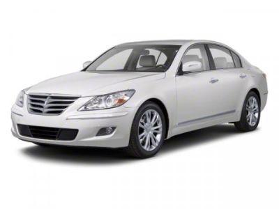 2012 Hyundai Genesis 3.8L V6 (White Satin Pearl)