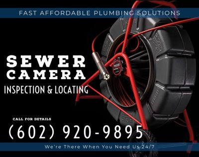 Plumbing ⍟ Sewer Camera Inspection & Locating ⍟ Plumber