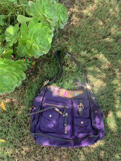 Purple Designer Purse