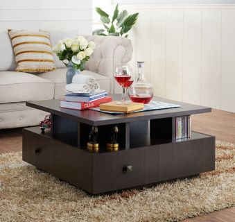 Modern Square Coffee Table!
