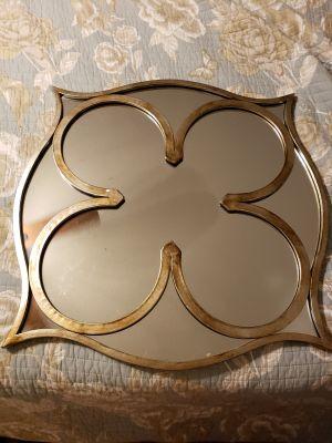 Geometric style mirror