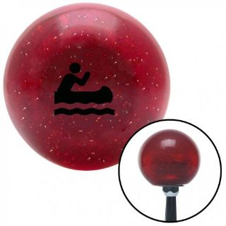 Purchase Black Marine in Canoe Red Metal Flake Shift Knob with 16mm x 1.5 Insertrack weig motorcycle in Portland, Oregon, United States, for US $29.97