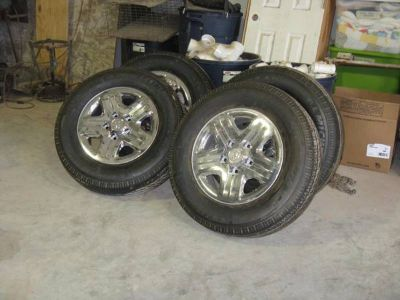 4 Michelin Tires and Rims
