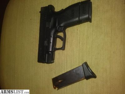 For Sale/Trade: XDsc 9mm