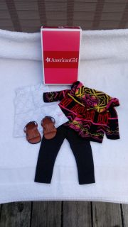 American Girl doll Saige's Sweater set. New in box