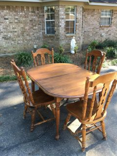 Solid Wood Kitchen Table for sale