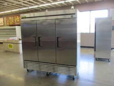 2016 True T-72 3-Door S/S Reach-In Refrigerator RTR#8051519-37