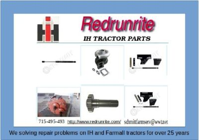 Buy Farmall 560 Tractor Parts Online – Redrunrite.com