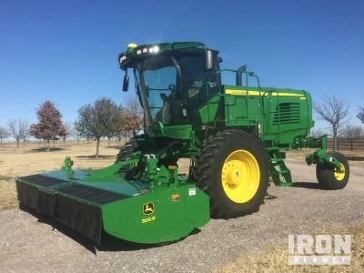 2015 John Deere W260R Swather/Windrower