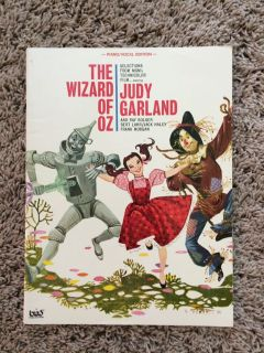 Wizard of Oz Piano Vocal Music Book