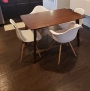Dining table & 4chair