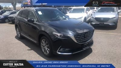 2018 Mazda CX-9 signature (JET BLACK MICA)
