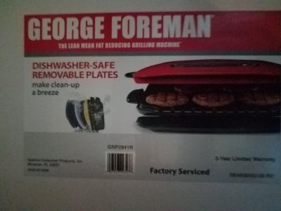 New Large George Foreman Grill