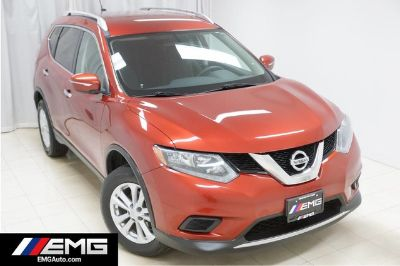 2015 Nissan Rogue SV AWD Backup Camera 1 Owner (Cayenne Red)