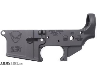 For Sale: NEW Spike's Tactical Forged Honey Badger Stripped Lower Receiver