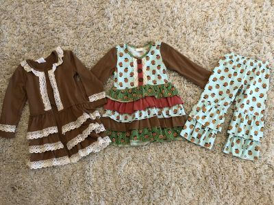 3 piece outfit size 12-18 months