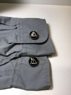 Harry Potter Deathly Hallows Symbol Cufflinks *crossposted