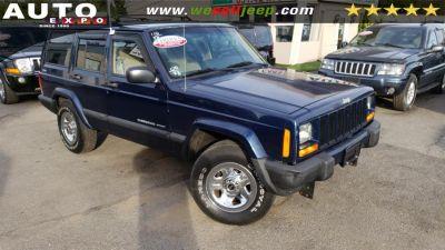 2000 Jeep Cherokee Sport (Patriot Blue Pearl)