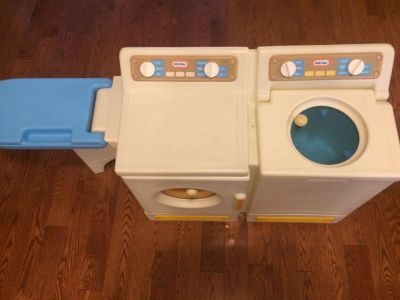 Little Tykes washer and dryer with ironing board