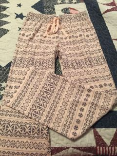BRAND NEW WITH OUT TAGS SONAMA BRAND SIZE SMALL PAJAMA PANTS