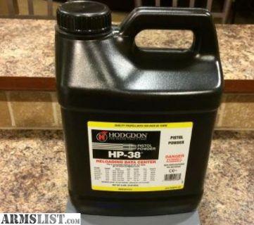 For Sale: 8-lb Jug HOGDGON HP-38 Powder