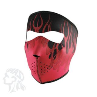 Sell MOTORCYCLE HUNTING BIKER NEOPRENE FULL FACE MASK HOT PINK WITH FLAMES motorcycle in Bemidji, Minnesota, US, for US $9.95