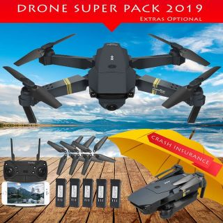 Drone KingSky Pro Foldable Quadcopter WIFI FPV with 720 hd
