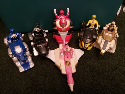 Power Rangers set