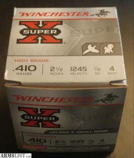"For Sale/Trade: .410 Winchester Super-X 2.5"" 4shot 250rds of ammo"