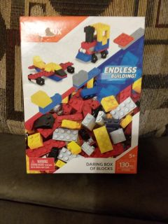 Mega Construx Build Beyond Endless Building Blocks 130 pieces ages 5 and Up new in box