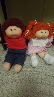 Boy and girl Cabbage Patch