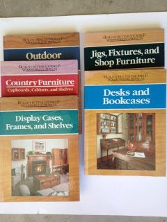 5 Woodworking Projects Books