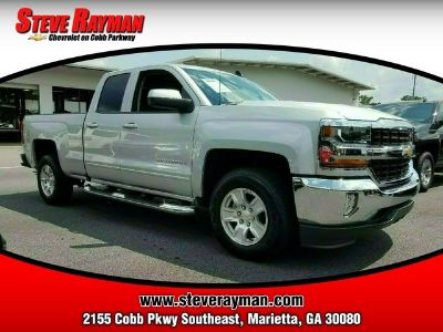 2018 Chevrolet Silverado 1500 2WD DOUBLE CAB 143.5 (Silver Ice Metallic)