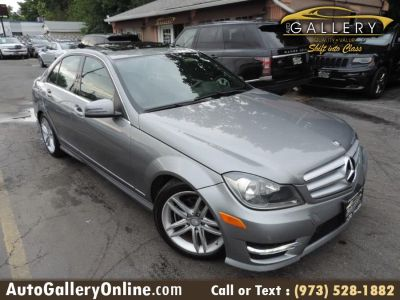 2012 Mercedes-Benz C-Class C300 4MATIC Luxury (Palladium Silver Metallic)