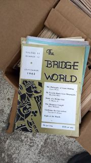 The Bridge World magazines