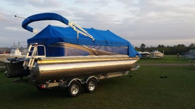 Avalon Pontoon Boat Closeout. Summer Kickoff Pricing