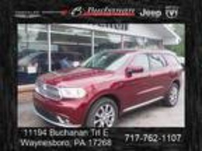 2018 Dodge Durango, new