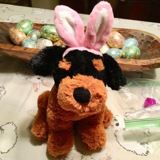 Puppy plush with bunny ears $2@SWAP