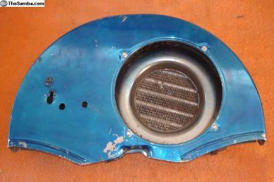 Fan Shroud With Outside Oil Cooler