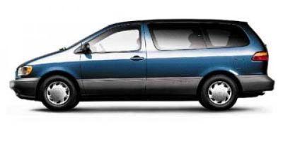 1998 Toyota Sienna LE (White)