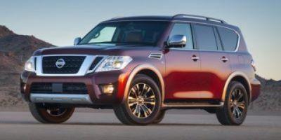 2019 Nissan Armada Platinum (Super Black)