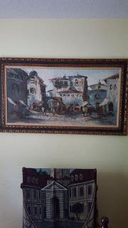 Large antique painting