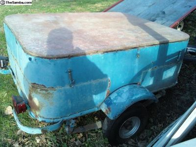 Custom Built Trailer Great Patina For Any VW, Bus!
