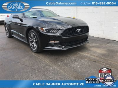 2015 Ford Mustang EcoBoost (black)