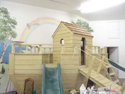 "The Ark has landed in Malad! at ""Small Kreations Day Care Center"""