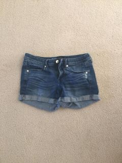 Mossimo jean shorts size 0