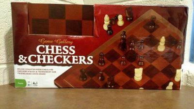 Cardinal Game Gallery Wood Chess (T=28)