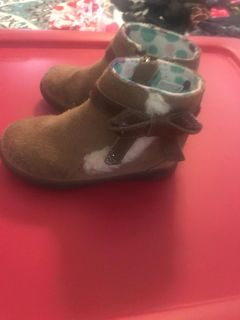 Ugg booties Brown Size 7