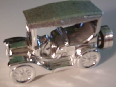 Touring T Silver Car Decanter